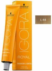Schwarzkopf Professional Schwarzkopf - Igora - Royal - Fashion Lights - L-44 Beige Extra - 60 ml