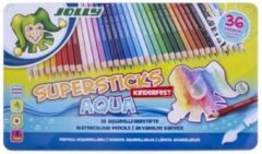 Jolly Supersticks Aqua Aquarelpotloden 36 stuks