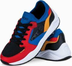 Merkloos / Sans marque Sneakers - heren - laag - Rood - T363