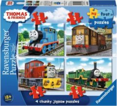 Ravensburger Thomas & Friends My first puzzels - 2+3+4+5 stukjes - kinderpuzzel