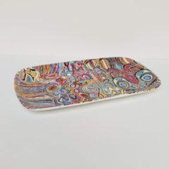 Paarse Alperstein Designs Designbord - Judy Napangardi Watson - Aboriginal collectie