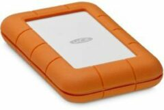 LaCie STFR2000403 Rugged Secure Externe harde schijf (2.5 inch) 2 TB Zilver, Oranje USB-C