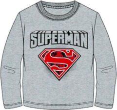 Superman t-shirt - grijs - Maat 116 / 6 jaar