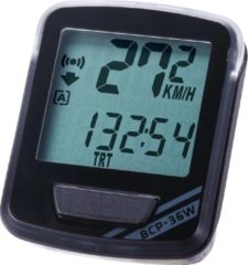 BBB cycling BBB BCP-36W NanoBoard Fietscomputer - Draadloos - 14 functies - Zwart/Grijs