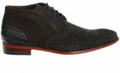 Floris Van Bommel Heren Nette schoenen 20109 - Grijs - Maat 45