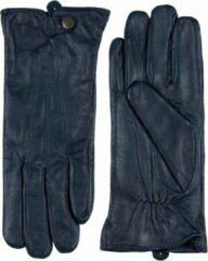 Bordeauxrode Laimböck Leren handschoenen dames model Scarlino Color: Deep burgundy, Size: 7