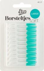 Groene Etos Borsteltjes Soft Large - Ragers - Grootverpakking-6 x 40 stuks