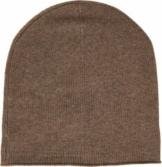 Happy Sweater 100% cashmere beanie/muts Taupe van My Cashmere Beanie