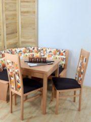 2er Set Stühle buche natur/braun