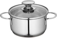 Zilveren Kuchenprofi Kookpan 14 cm - 1000 ml