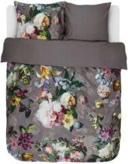 Essenza Fleur - Dekbedovertrek - Lits-jumeaux - 240x200/220 cm + 2 kussenslopen 60x70 cm - Taupe