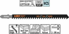CMT Decoupeerzaag HCS 110 x 132 mm. 6tpi (fast,wood)