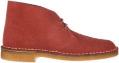 Rosso Clarks Polacchine stivaletti scarpe uomo camoscio