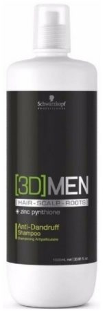 Afbeelding van Schwarzkopf Professional Schwarzkopf - 3D Men - Anti-Dandruff Shampoo - 1000 ml