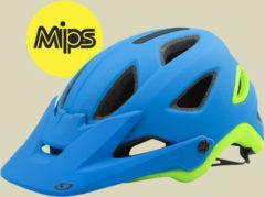 Giro Montaro Mips Herren Fahrradhelm Kopfumfang M 55-59 cm matte blue/lime