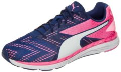 Rosa Speed 300 S Ignite Laufschuh Damen Puma true blue / knockout pink / puma white