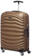 Beige Samsonite Reiskoffer - Lite-Shock Spinner 55/20 (Handbagage) Sand