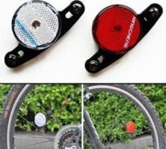 Rode ABC-Led Fiets verlichtings set -XC 506