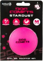 Dog Comets Dog Comets Ball Stardust Medium - Hondenspeelgoed - Zwart&Oranje