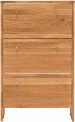 Home affaire Schuhkommode »Dura« aus massiver Wildeiche, 82 cm breit