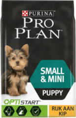 Pro Plan Small & Mini Puppy OptiStart - Rijk aan Kip - Hondenvoer - 3 kg