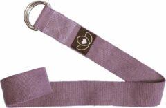 Lotus - Superyoga Yoga riem / strap extra lang lavendel - Lotus