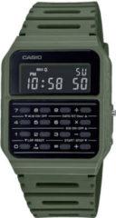 CASIOVINTAGE CALC groen resin CA-53WF-3BEF