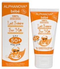 Witte Alphanova Bebe ALPHANOVA SUN BIO SPF 50+ Bebe Hypo allergeen Sun Milk 50g