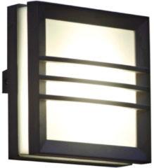 Antraciet-grijze KS Verlichting Vision 5 vierkant met raster