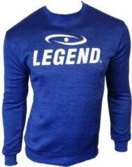 Blauwe Legend Sports Unisex Sweater Maat XS