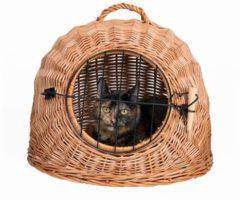 Trixie Rieten Kattenmand - Kattenvervoersbox - 50 cm