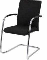 Zwarte RoomForTheNew Conferentiestoelen 122 SB- Vergaderstoel - Conferentiestoel - luxe stoel - stoel - vergaderen - eetkamerstoel - conferentie stoel - vergader stoel