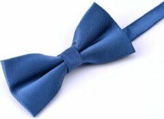 Tailor Ties Vlinderdas Blauw Velvet