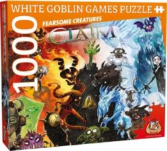 White Goblin Games Legpuzzel Claim Puzzle: Fearsome Creatures 1000 Stukjes