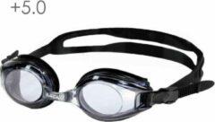 Lovetoswim.nl Zwembril op sterkte +5.0 (smoke)