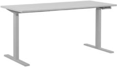 Beliani Bureau verstelbaar wit 160 x 72 cm DESTIN II