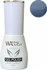 Blauwe Gellex White Angel Gellex Deluxe Gel Polish, gellak, gel nagellak, shellac - Mountain Lake 131