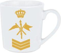 Marineblauwe Sergeant Telegrafist