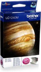 Paarse Brother LC-1240 - Inktcartridge / Magenta