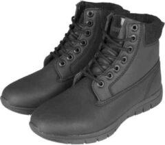 Urban Classics Enkellaars -40 Shoes- Runner Zwart