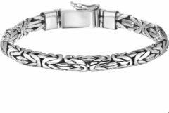 Huiscollectie TFT Armband Zilver Konings 6 mm 19 cm