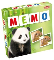 Tactic memory spel Animals Babies Memo
