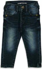 Blauwe Feetje! Jongens Lange Broek - Maat 56 - Denim - Jeans