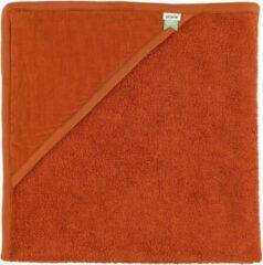 Oranje Trixi Baby Trixie Baby badcape Ribble Brick