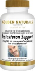 Golden Naturals Testosteron Support (60 veganistische tabletten)