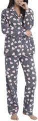 Flanell-Pyjama, geknöpft P.J.Salvage grey