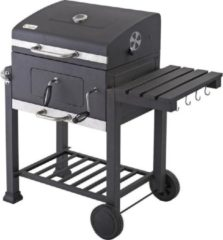 Grijze Tepro Garten Toronto Barbecue - Grilloppervlak (LxB) 56 x 42 cm - Thermometer In Deksel - RVS