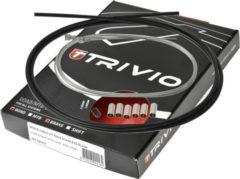 Trivio Kabelkit compleet rem race rvs - zwart
