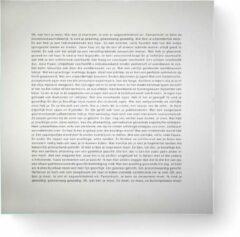 Goods Mirror - Spiegel - Glas - 45x45 cm - Wit