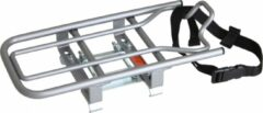 Steco Universele E-bike Opzetdrager Voor Kinderzitjes Zilver